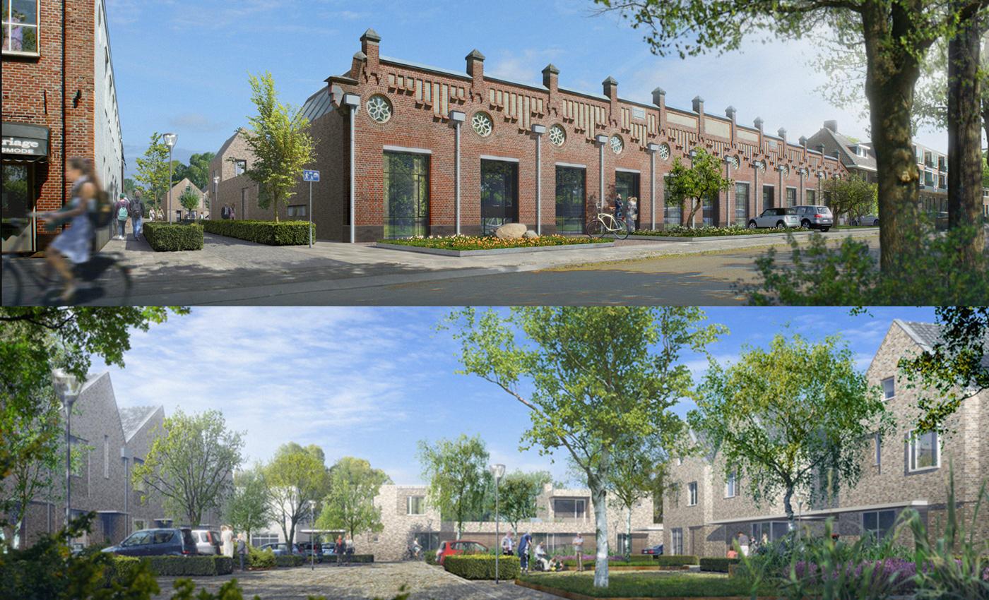 Woningbouwproject Wollendekenfabriek - Prinses van Geldrop